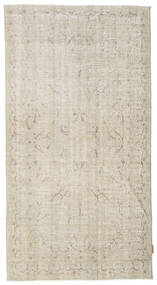 Colored Vintage Rug 115X215 Authentic  Modern Handknotted Light Brown/Dark Beige (Wool, Turkey)