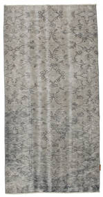 Colored Vintage Rug 119X205 Authentic  Modern Handknotted Light Grey/Dark Grey (Wool, Turkey)