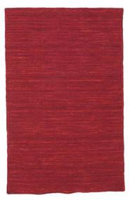Kelim loom - dunkelrot Teppich CVD8721