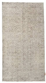 Colored Vintage Rug 106X198 Authentic  Modern Handknotted Light Grey/Light Brown (Wool, Turkey)
