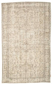 Colored Vintage Rug 162X260 Authentic  Modern Handknotted Light Brown/Beige (Wool, Turkey)