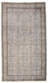 Colored Vintage Rug 160X278 Authentic  Modern Handknotted Light Grey/Light Brown (Wool, Turkey)
