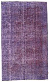Colored Vintage Matto 160X271 Moderni Käsinsolmittu Violetti/Tummanvioletti/Vaaleanvioletti (Villa, Turkki)