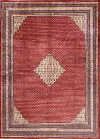 Sarough Mir Matta 270X388 Äkta Orientalisk Handknuten Mörkröd/Roströd Stor (Ull, Persien/Iran)