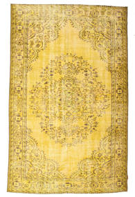 Colored Vintage Rug 180X287 Authentic  Modern Handknotted Yellow (Wool, Turkey)