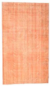 Colored Vintage Vloerkleed 160X278 Echt Modern Handgeknoopt Oranje/Donkerbeige (Wol, Turkije)