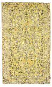 Colored Vintage Rug 155X256 Authentic  Modern Handknotted Yellow/Light Green (Wool, Turkey)