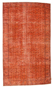 Colored Vintage Tapijt 162X283 Echt Modern Handgeknoopt Oranje/Roestkleur (Wol, Turkije)
