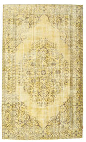 Colored Vintage Rug 158X268 Authentic  Modern Handknotted Yellow/Beige (Wool, Turkey)