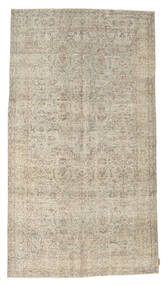 Colored Vintage Rug 158X282 Authentic  Modern Handknotted Light Brown/Dark Beige (Wool, Turkey)