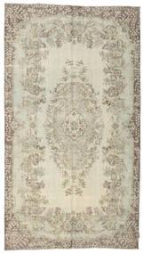 カラード ヴィンテージ 絨毯 166X300 モダン 手織り 薄茶色/薄い灰色/暗めのベージュ色の (ウール, トルコ)