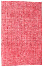 Colored Vintage Rug 200X314 Authentic  Modern Handknotted Pink/Rust Red (Wool, Turkey)