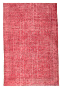 Colored Vintage Tappeto 207X310 Moderno Fatto A Mano Rosa/Ruggine/Rosso (Lana, Turchia)