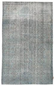 Colored Vintage Teppe 167X270 Ekte Moderne Håndknyttet Lys Grå/Mørk Grå (Ull, Tyrkia)