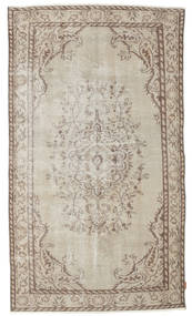 Colored Vintage Rug 153X267 Authentic  Modern Handknotted Light Grey/White/Creme (Wool, Turkey)