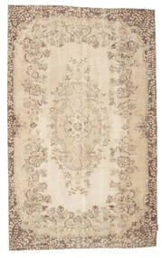 Colored Vintage Rug 165X274 Authentic  Modern Handknotted Light Brown/Beige (Wool, Turkey)