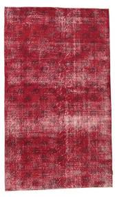 Colored Vintage Tapete 155X260 Moderno Feito A Mão Vermelho Escuro/Vermelho (Lã, Turquia)