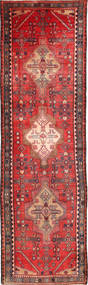 Koliai Rug 103X346 Authentic  Oriental Handknotted Hallway Runner  Dark Red/Brown (Wool, Persia/Iran)