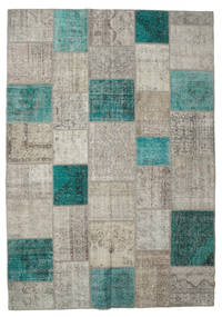 Patchwork Rug 238X340 Authentic  Modern Handknotted Light Grey/Light Brown (Wool, Turkey)