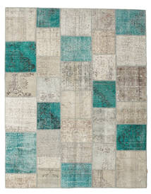 Patchwork Rug 238X301 Authentic  Modern Handknotted Light Grey/Dark Beige (Wool, Turkey)