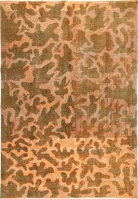 Colored Vintage Rug 195X285 Authentic  Modern Handknotted Brown/Light Brown (Wool, Persia/Iran)