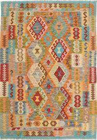 キリム アフガン オールド スタイル 絨毯 AXVA390