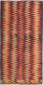 Kilim Fars Rug 150X300 Authentic  Oriental Handwoven Dark Red/Brown (Wool, Persia/Iran)