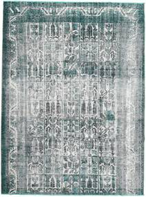 Colored Vintage Rug 195X263 Authentic  Modern Handknotted Light Grey/Dark Grey (Wool, Persia/Iran)