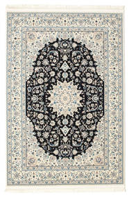 Nain Emilia - Blu Scuro Tappeto 160X230 Orientale Beige/Grigio Scuro ( Turchia)