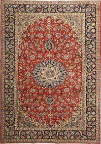 Najafabad Rug 240X350 Authentic  Oriental Handknotted Dark Red/Light Brown (Wool, Persia/Iran)