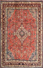 Hamadan Tapis 215X340 D'orient Fait Main Marron Foncé/Rouge Foncé (Laine, Perse/Iran)