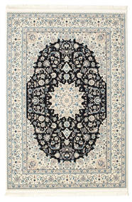 Nain Emilia - Dark Blue Rug 200X300 Oriental Beige/Light Grey ( Turkey)