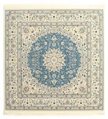 Nain Emilia - Jasnoniebieski Dywan 250X250 Orientalny Kwadratowy Beżowy/Jasnoszary Duży ( Turcja)
