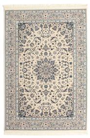 Nain Emilia - Beige/Blå Matta 140X200 Orientalisk Beige/Ljusgrå ( Turkiet)