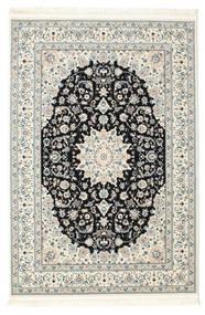 Nain Emilia - Dark Blue Rug 140X200 Oriental Beige/Dark Grey ( Turkey)
