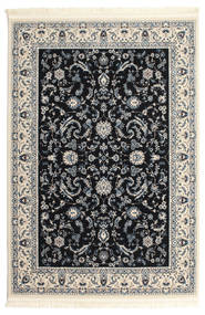Nain Florentine - Dark Blue Rug 120X180 Oriental Black/Light Grey/Dark Grey ( Turkey)