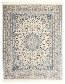 Nain Emilia - Beige/Light Blue Rug 200X250 Oriental Light Grey/Beige ( Turkey)
