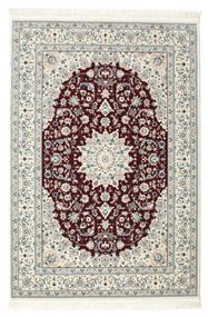 Naïn Emilia - Rouge Foncé Tapis 120X180 D'orient Beige/Gris Clair ( Turquie)