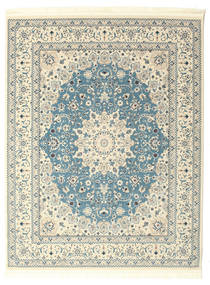 Nain Emilia - Light Blue Rug 250X300 Oriental Beige/Light Grey Large ( Turkey)