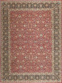 Kerman Patina Matto 310X413 Itämainen Käsinsolmittu Vaaleanruskea/Tummanpunainen Isot (Villa, Persia/Iran)