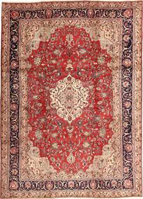 Hamadan Shahrbaf Teppich  220X315 Echter Orientalischer Handgeknüpfter Dunkelrot/Hellrosa (Wolle, Persien/Iran)