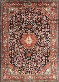 Hamadan Shahrbaf Rug 215X305 Authentic  Oriental Handknotted Light Brown/Black (Wool, Persia/Iran)