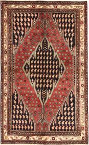 Saveh Rug 136X230 Authentic  Oriental Handknotted Black/Light Brown (Wool, Persia/Iran)