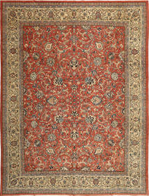 Mahal Patina Teppe 318X424 Ekte Orientalsk Håndknyttet Lysbrun/Brun Stort (Ull, Persia/Iran)