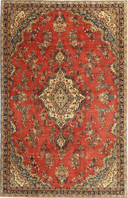 Hamadan Patina Rug 194X305 Authentic  Oriental Handknotted Rust Red/Light Brown (Wool, Persia/Iran)