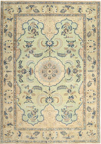 Keshan Patina Teppe 268X380 Ekte Orientalsk Håndknyttet Mørk Beige/Lysbrun Stort (Ull, Persia/Iran)