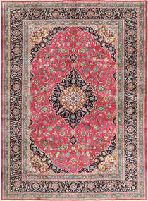 Kashmar Rug 248X340 Authentic  Oriental Handknotted Light Grey/Dark Purple (Wool, Persia/Iran)