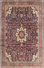 Bidjar Teppe 210X325 Ekte Orientalsk Håndknyttet Mørk Lilla/Lilla (Ull, Persia/Iran)