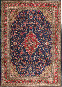 Hamadan Patina Rug 212X302 Authentic  Oriental Handknotted Dark Grey/Dark Red (Wool, Persia/Iran)