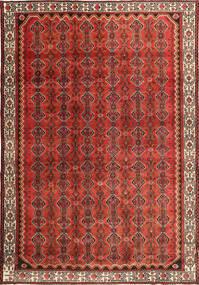 Hamadan Patina Matta 260X383 Äkta Orientalisk Handknuten Mörkröd/Roströd Stor (Ull, Persien/Iran)